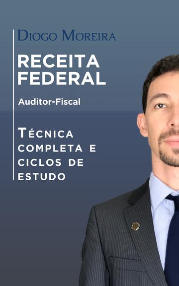 Ebook AFRFB - Auditor-Fiscal da Receita Federal - Técnica completa e ciclos de estudo